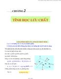 Bài giảng Cơ lưu chất: Chương 2 - PGS.TS.Nguyễn Thị Bảy