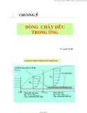 Bài giảng Cơ lưu chất: Chương 5 - PGS.TS.Nguyễn Thị Bảy