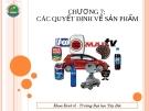 Bài giảng Marketing căn bản: Chương 7 - Ths.Hoàng Xuân Trọng