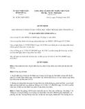 Quyết định 14/2013/QĐ-UBND tỉnh Sơn La