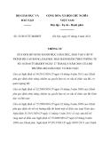 Thông tư 32/2013/TT-BGDĐT