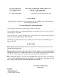 Quyết định 14/2013/QĐ-UBND tháng 8 năm 2013