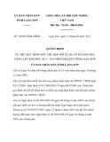 Quyết định 19/2013/QĐ-UBND tỉnh Lạng Sơn