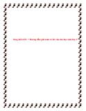 SKKN: Hướng dẫn giải toán có lời văn cho học sinh lớp 1
