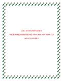 SKKN: Một số biện pháp rèn luyện kĩ năng học tốt môn Tập Làm Văn lớp 5