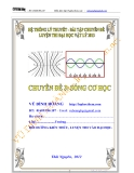 Chuyên đề ôn thi Đại học môn Lý: Sóng cơ học - Vũ Đình Hoàng
