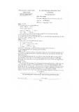 Đề thi HSG Hóa học 9 cấp huyện - Sở GD&ĐT Tiền Giang (2012-2013)