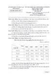 Đề thi HSG Địa lí 9 cấp huyện - Sở GD&ĐT Tiền Giang (2013-2014)