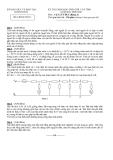 3 đề  thi HSG Vật lí 9 cấp tỉnh  kèm đáp án