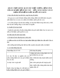 Giáo án Công nghệ 10 bài 36: Thực hành - Quan sát triệu chứng, bệnh tích của gà bị mắc bệnh Niu cát xơn (Newcastle) và cá trắm cỏ bị bệnh xuất huyết do vi rút
