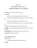 Giáo án Công nghệ 10 bài 43: Bảo quản thịt, trứng, sữa và cá