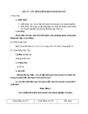 Giáo án Công nghệ 10 bài 53: Xác định kế hoạch kinh doanh