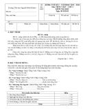 Đề thi cuối HK1 Toán và Tiếng Việt 3 - TH Nguyễn Bỉnh Khiêm (2013-2014)