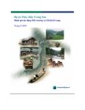 Dự án Thủy điện Trung Sơn - Đánh giá tác động Môi trường và Xã hội bổ sung