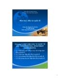 Bài giảng Đầu tư quốc tế: Chương 5 - GV.Nguyễn Thị Việt Hoa