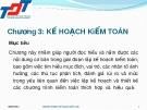 Bài giảng Kiểm toán đại cương: Chương 3 - Nguyễn Thị Thanh Hương