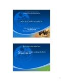 Bài giảng Đầu tư quốc tế: Chương 2 - GV.Nguyễn Thị Việt Hoa