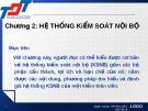 Bài giảng Kiểm toán đại cương: Chương 2 - Nguyễn Thị Thanh Hương
