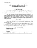 Giáo án Địa lý 9 bài 14: Giao thông vận tải và Bưu chính viễn thông