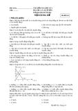 Đề kiểm tra HK1 Vật Lý 10 cơ bản (kèm đáp án) - Mã đề 102