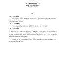 Đề kiểm tra HK1 môn Lịch Sử lớp 10 - Đề 1 (kèm đáp án)