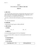 Giáo án Địa lý 9 bài 18: Vùng trung du và miền núi Bắc Bộ (tt)