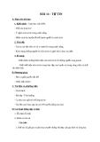 Giáo án GDCD 7 bài 11: Tự tin