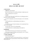 Giáo án GDCD 7 bài 18: Bộ máy nhà nước cấp cơ sở (xã, phường, thị trấn)