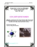 SKKN: Cải tiến một số ký thuật để thực hiện thành công các thí nghiệm trong bảy bài thực hành bắt buộc của môn Hóa học lớp 9