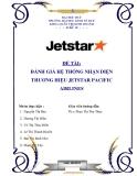 Tiểu luận: Đánh giá hệ thống nhận diện thương hiệu Jetstar Pacific Airlines (JPA)