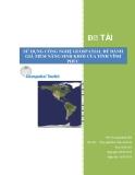 Báo cáo: Sử dụng công nghệ geospatial để đánh giá tiềm năng sinh khối của tỉnh Vĩnh Phúc