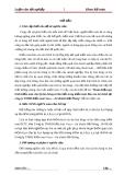 Luận văn: Hoàn thiện quy trình kiểm toán chu kỳ bán hàng và thu tiền trong kiểm toán Báo cáo tài chính tại công ty TNHH Kiểm toán Vaco – chi nhánh Hải Phòng