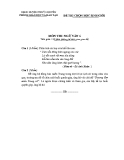 Đề thi chọn HSG môn Ngữ văn lớp 6 - Phòng GD&ĐT Thủy Nguyên kèm đáp án