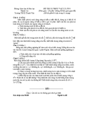 Đề thi Olympic môn Lý lớp 8 năm 2013-2014 - Trường THCS Thanh Văn