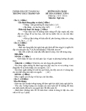 Đáp án đề thi Olympic môn Ngữ văn lớp 6 năm 2013-2014 - Trường THCS Thanh Văn