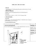 Giáo án Công nghệ 11 bài 12: Thực hành - Bản vẽ xây dựng
