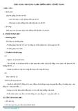 Giáo án bài 38: Thực hành vận hành bảo dưỡng động cơ đốt trong - Công nghệ 11 - GV.Đ.T.Hoàng