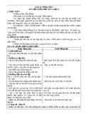 Giáo án bài Ôn tập giữa học kì I - Tiếng việt 5 - GV.Lê T.Hoà