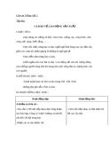 Giáo án bài Tập đọc: Ca dao về lao động sản xuất - Tiếng việt 5 - GV.Lê T.Hoà