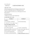 Giáo án bài Luyện từ và câu: Luyện tập về từ đồng nghĩa (Tuần 2)  - Tiếng việt 5 - GV.Lê T.Hoà