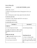 Giáo án bài Luyện từ và câu: Luyện tập về từ đồng nghĩa - Tiếng việt 5 - GV.Lê T.Hoà