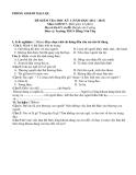 Tổng hợp đề kiểm tra học kì 1 môn GDCD lớp 7 năm 2012-2013 - Phòng GD&ĐT Đại Lộc