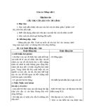 Giáo án Tiếng việt 5 tuần 1 bài: Cấu tạo bài văn tả cảnh