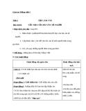 Bài Tập làm văn: Cấu tạo của bài văn tả người - Giáo án Tiếng việt 5 - GV.Mai Huỳnh