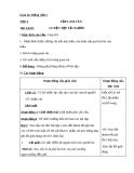 Bài Tập làm văn: Luyện tập tả người - Giáo án Tiếng việt 5 - GV.Mai Huỳnh