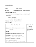 Bài Tập làm văn: Luyện tập tả người (Tả ngoại hình) (tt) - Giáo án Tiếng việt 5 - GV.Mai Huỳnh