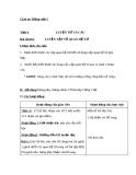Bài Luyện từ và câu: Luyện tập về quan hệ từ - Giáo án Tiếng việt 5 - GV.Mai Huỳnh