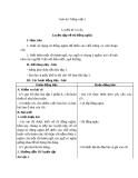 Bài Luyện từ và câu: Luyện tập về từ đồng nghĩa - Giáo án Tiếng việt 5 - GV.Mai Huỳnh
