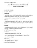 Giáo án Địa lý 10 bài 7: Cấu trúc của trái đất. Thạch quyển. Thuyết kiến tạo mảng
