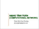 Bài giảng Mạng tính toán - Phạm Đình Duy Phương